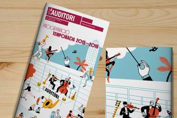 Programa de Temporada 2015-16 de L'Auditori