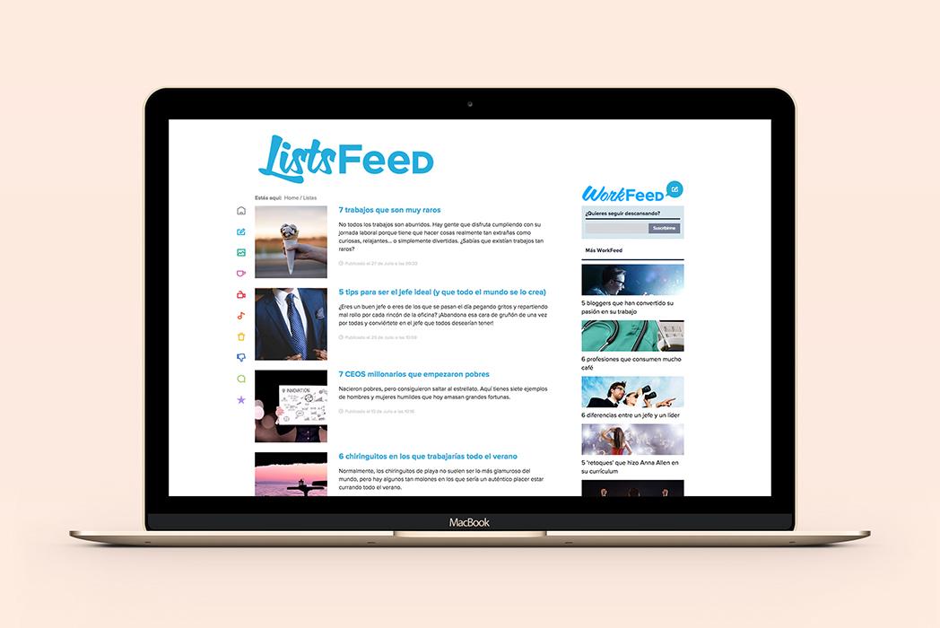 Workfeed de Infojobs
